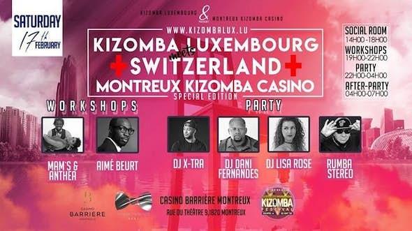 Kizomba Luxembourg meets Switzerland Montreux Kizomba Casino 3rd