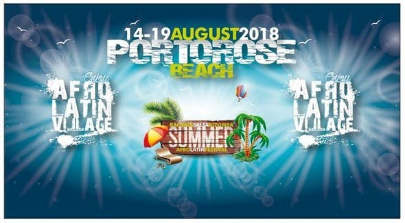 Afrolatin Summer Village 2018 (XII Edition)