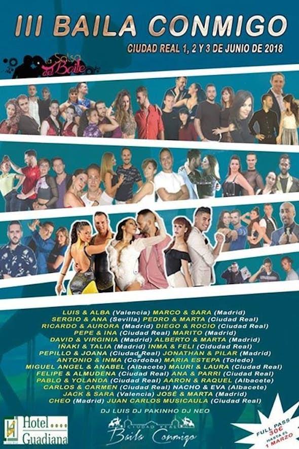 Baila Conmigo Ciudad Real 2018 (3rd Edition)