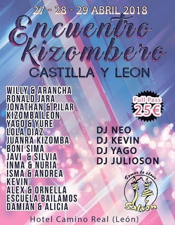 Kizomba Meeting at  Castilla y León 2018 (2nd Edition)
