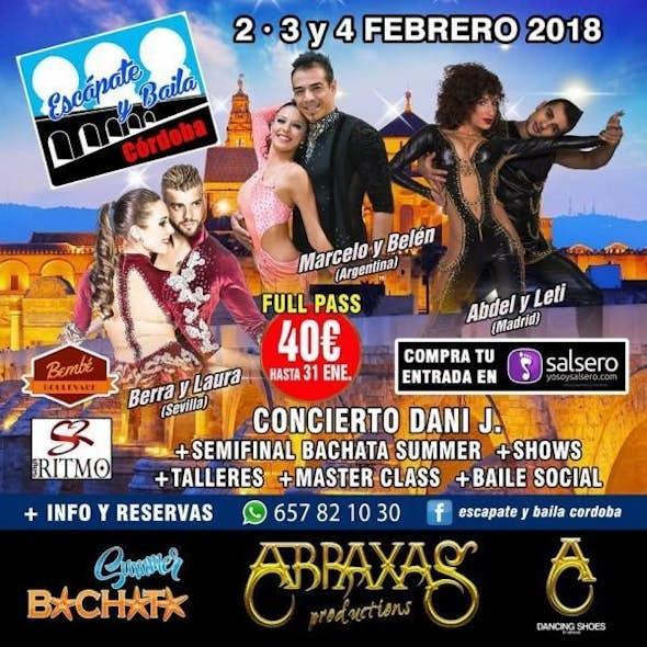 Escápate y Baila Córdoba 2018