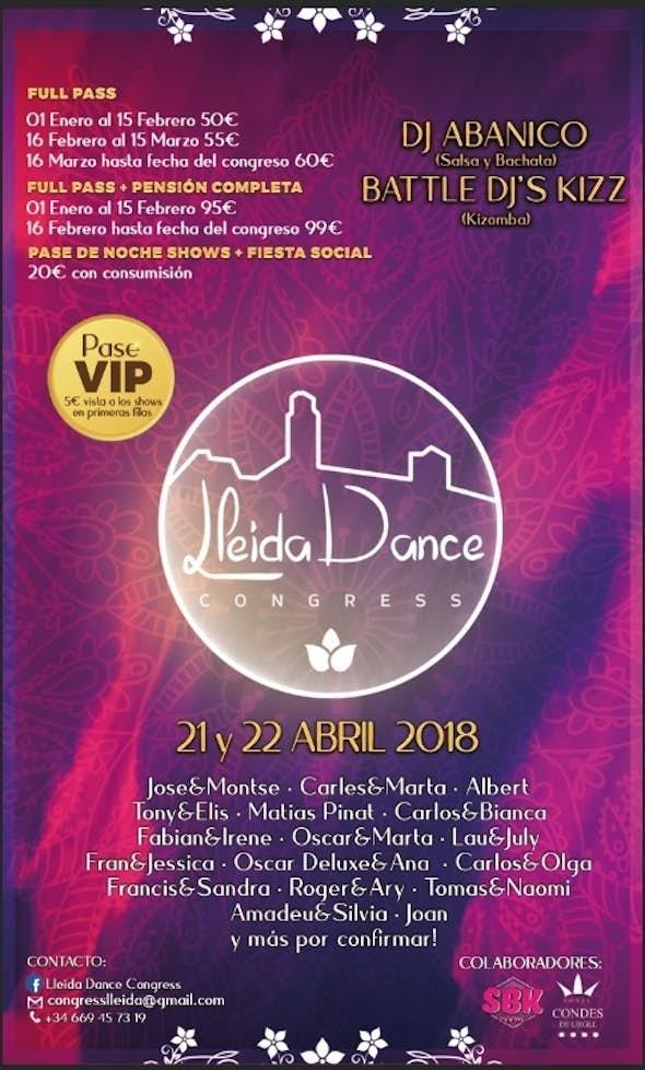 Lleida Dance Congress 2018