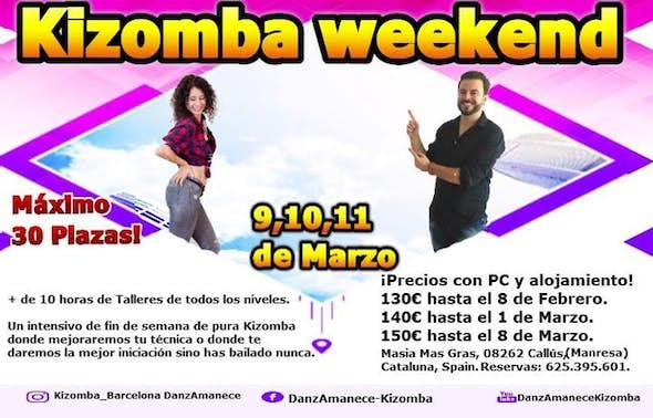 Kizomba Weekend Danzamanece 2018
