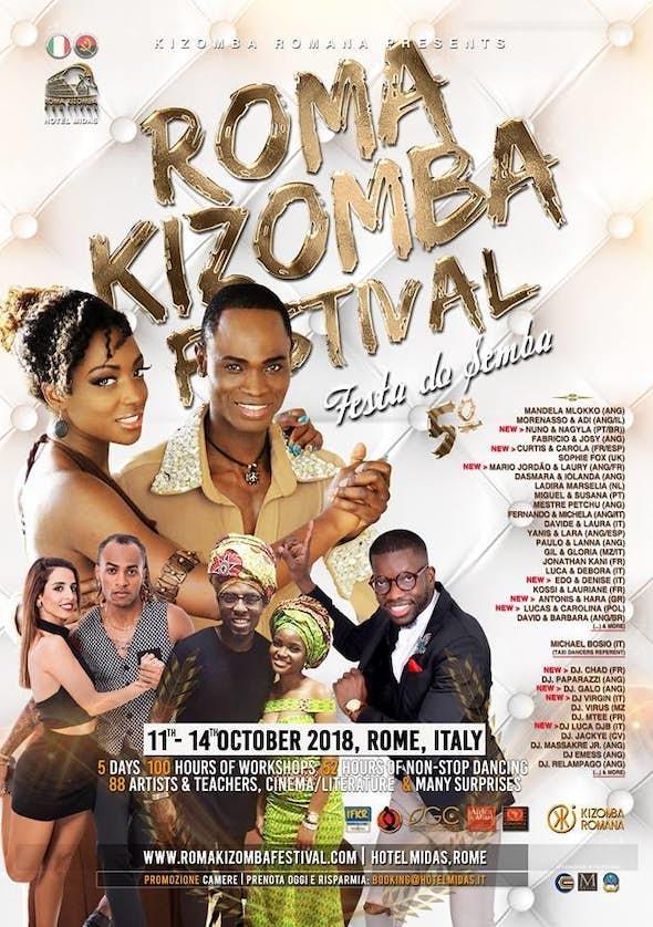 Roma Kizomba Festival 2018 (5ª Edición)