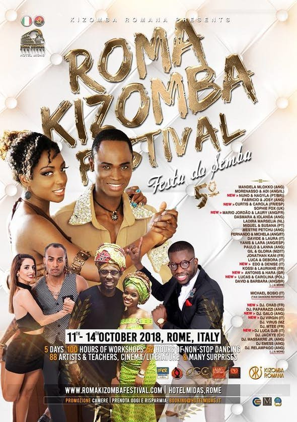 Roma Kizomba Festival 2018 (5th Edition)