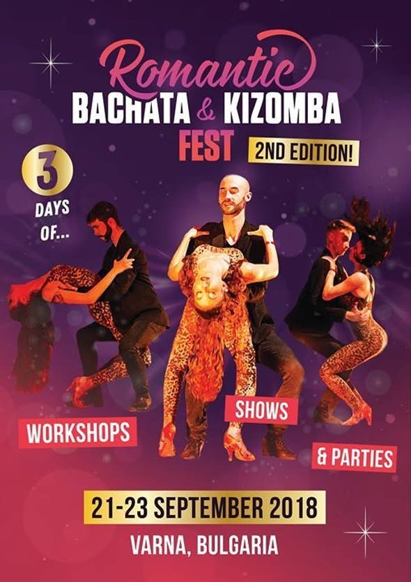 Romantic Bachata and Kizomba Festival 2018 (2nd Edition)