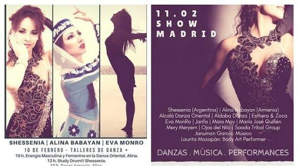 Jornadas de Danza, Música y Body Art Performance en Madrid