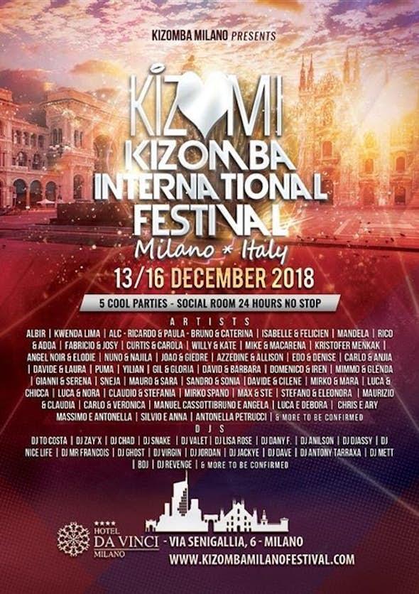 KIZMI 2018 - Kizomba Milano Festival 2018