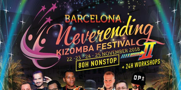 Neverending Kizomba Festival Barcelona 2018 (2nd Edition)
