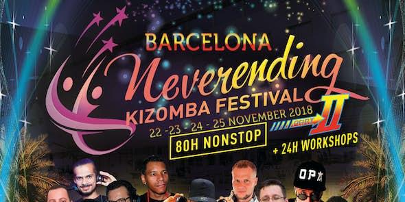 Neverending Kizomba Festival Barcelona 2018 (2nd Edition)