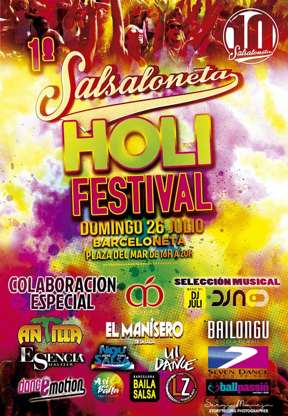1st Salsaloneta Holi Festival