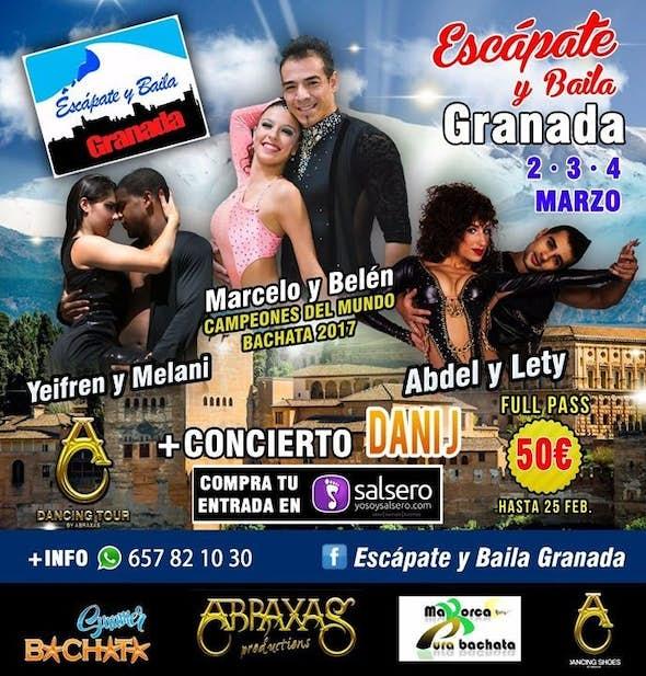 Escápate y Baila Granada 2018