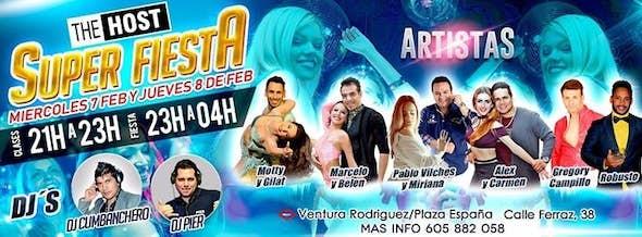 Super Fiesta 07 Y 08 De Febrero En The Host Bachatea