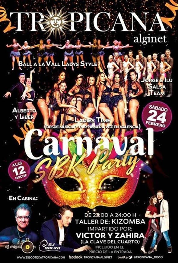 Tropicana Carnaval Sbk Party