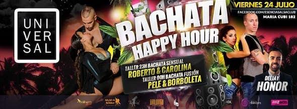 ÚLTIMO BACHATA HAPPY HOUR (Pre-verano) - Talleres Bachata: Pele & Borboleta