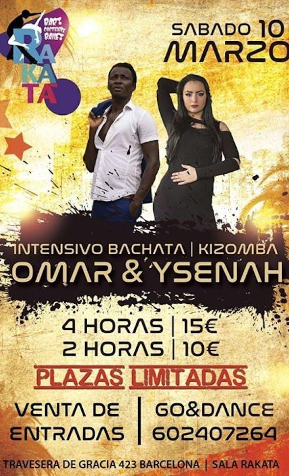 Intensivo de Bachata y Kizomba en Barcelona
