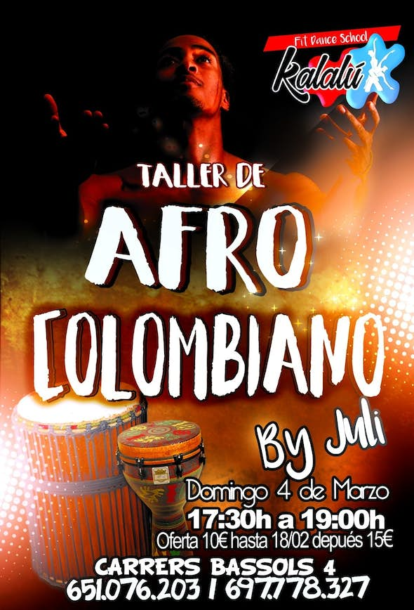 Taller AFRO COLOMBIANO
