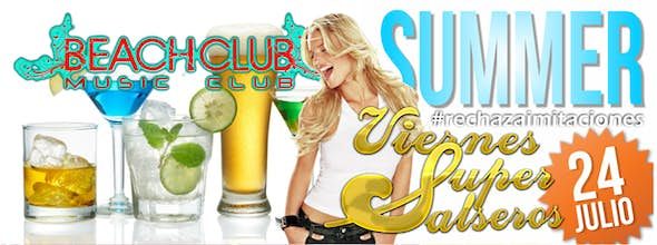 Fridays SuperSalseros at Beach Club