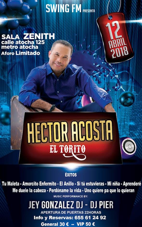 "Héctor Acosta ""El Torito"" - Bachata Concert in Madrid"