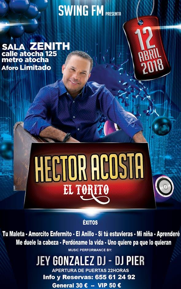 """Héctor Acosta """"El Torito"""" - Concierto de Bachata en Madrid"""