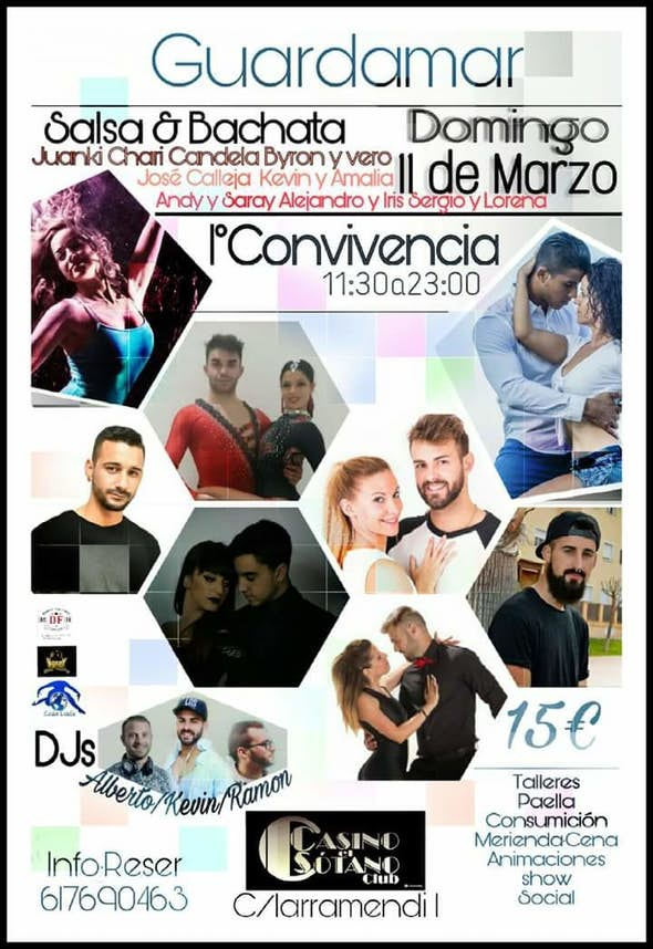 1st Bachata and Salsa Convention in Alicante