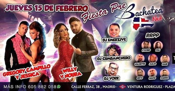 Pre-Fiesta VII Bachatea World Congress 2018