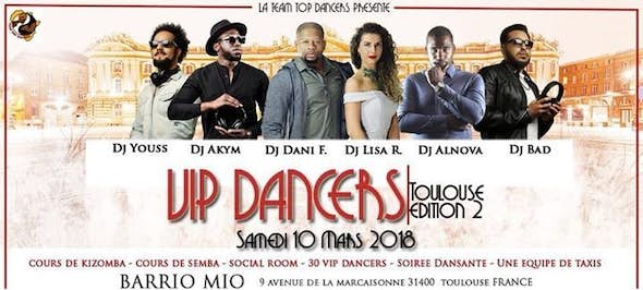 VIP Dancers Toulouse 2018 (2n Edition)