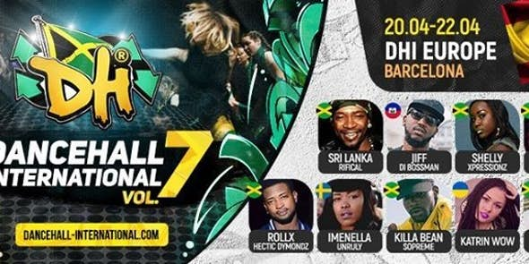 Dancehall International Europe 2018