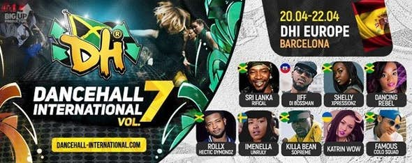 Dancehall International Europe 2018