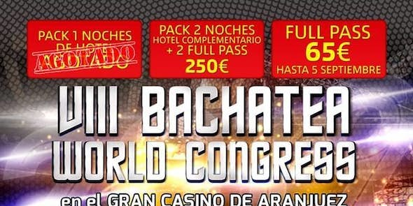 Bachatea World Congress 2019 (8ª Edición)