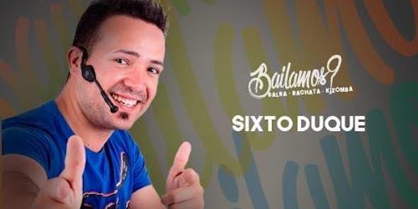 Bailamos? Sixto Duque every friday in City Hall Salou
