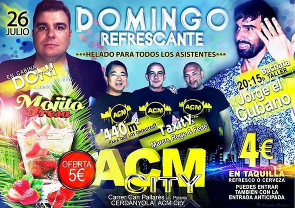Domingo en ACM City