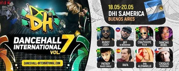 Dancehall International South America 2018