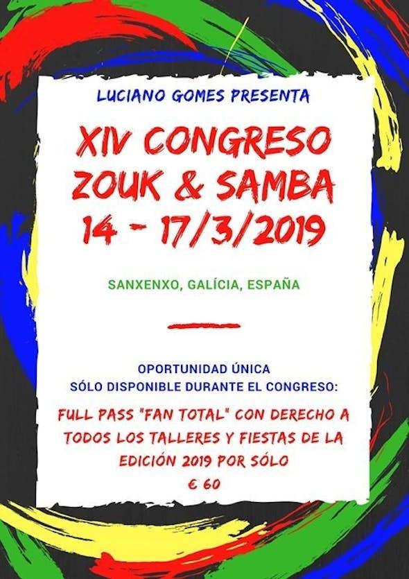 Congreso de Zouk y Samba en Galícia 2019 (14th Edition)