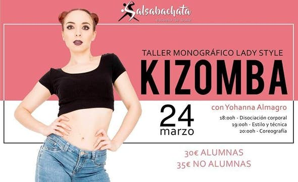 Taller Kizomba Lady Style con Yohanna Almagro