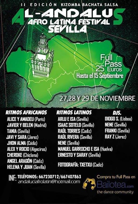 Al-Andalus Festival Afro Latino 2015 (Kizomba-Bachata-Salsa) (2ª Edición)