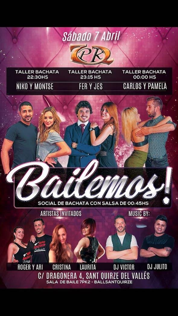 Fiesta Bailemos en 7PK2 - sábado 7 abril