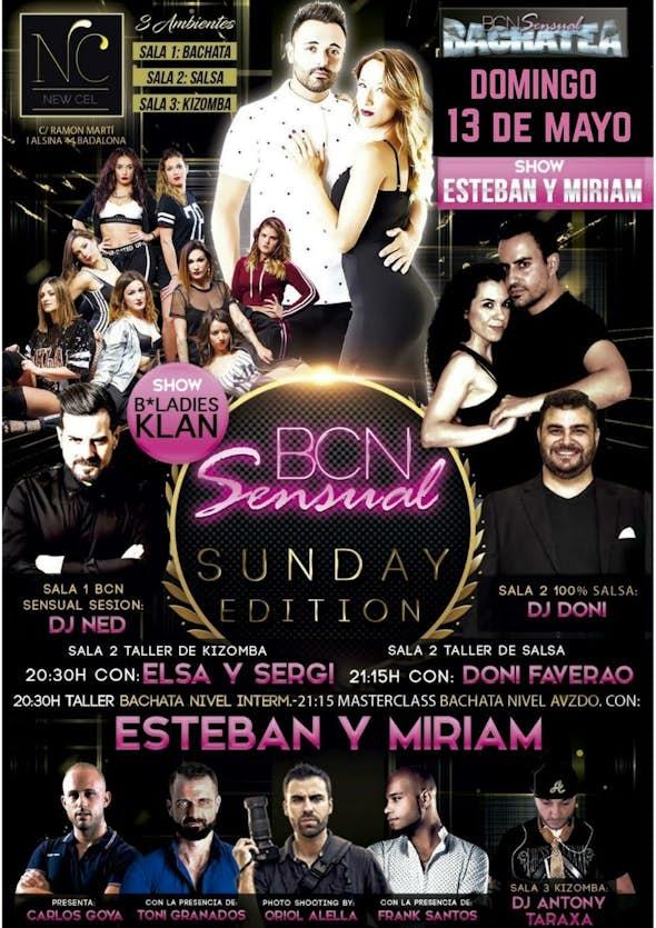 Domingo 13 de Mayo BCN Sensual & New Cel