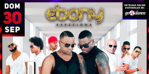 Concierto de Los 4 en Barcelona - 30 de Setiembre de 2018 en Ebony Barcelona