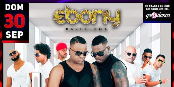 Los 4 Concert in Barcelona - September 30th 2018 in Ebony Barcelona