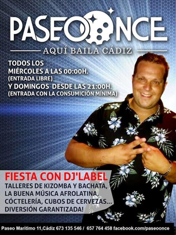 Fiesta con DJ LABEL