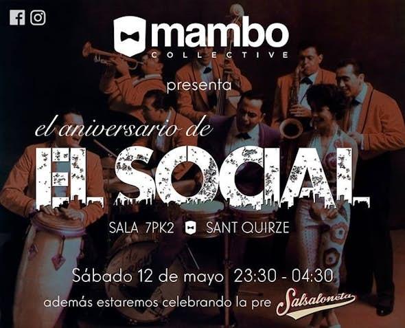 El Social - 1er aniversario en 7PK2 - 12 de Mayo