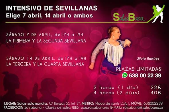 SEVILLANAS Intensive Course in Barcelona - Saturday 7 April