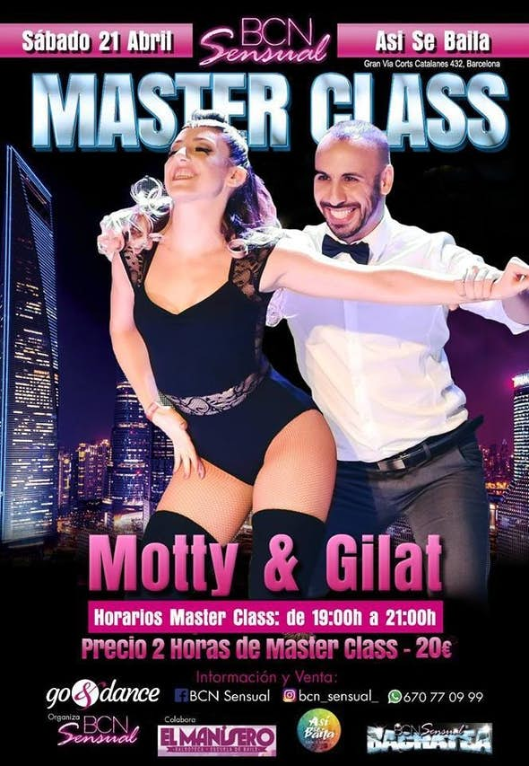 Master Class de bachata con Motty y Gilat