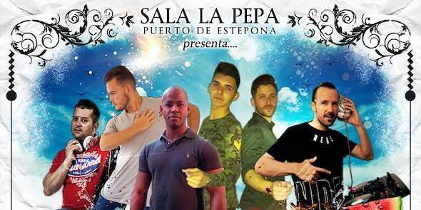Domingo Latino en Sala La Pepa