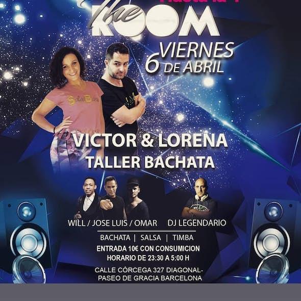 Taller GRATIS de Bachata Fusion + Fiesta a las 00h en The Room Barcelona