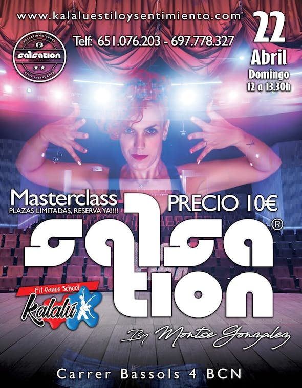 Masterclass Salsation and Zumba in Barcelona