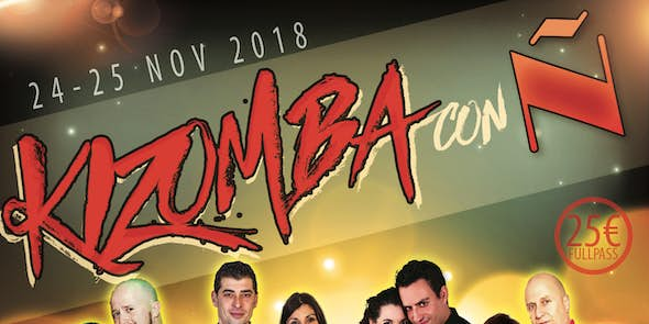 Kizomba con Ñ 2018 (2nd Edition)