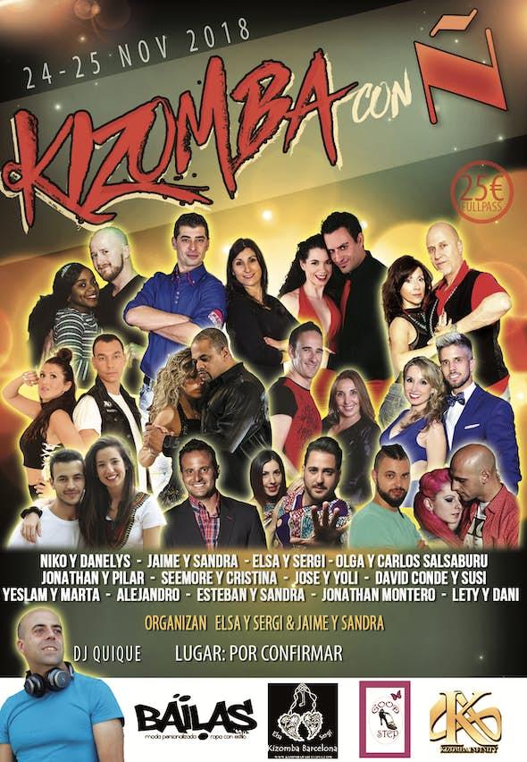 Kizomba con Ñ 2018 (2nd Edition)