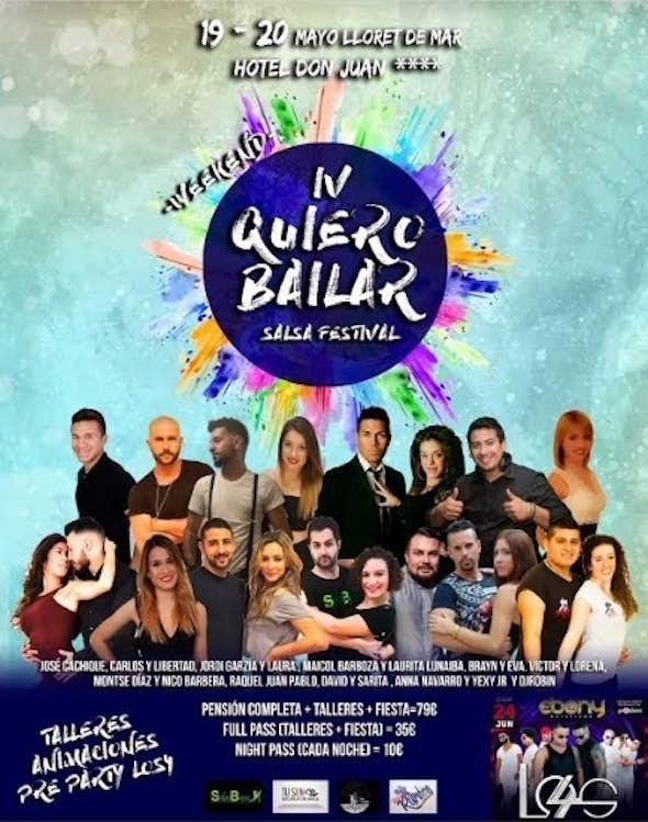 Quiero Bailar Salsa Festival 2018 (4ª Edición)